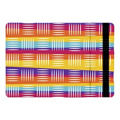 Background Line Rainbow Apple Ipad Pro 10 5   Flip Case