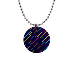 Background Lines Forms 1  Button Necklace by HermanTelo