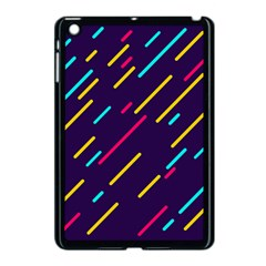 Background Lines Forms Apple Ipad Mini Case (black) by HermanTelo