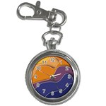 Autumn Waves Key Chain Watches Front