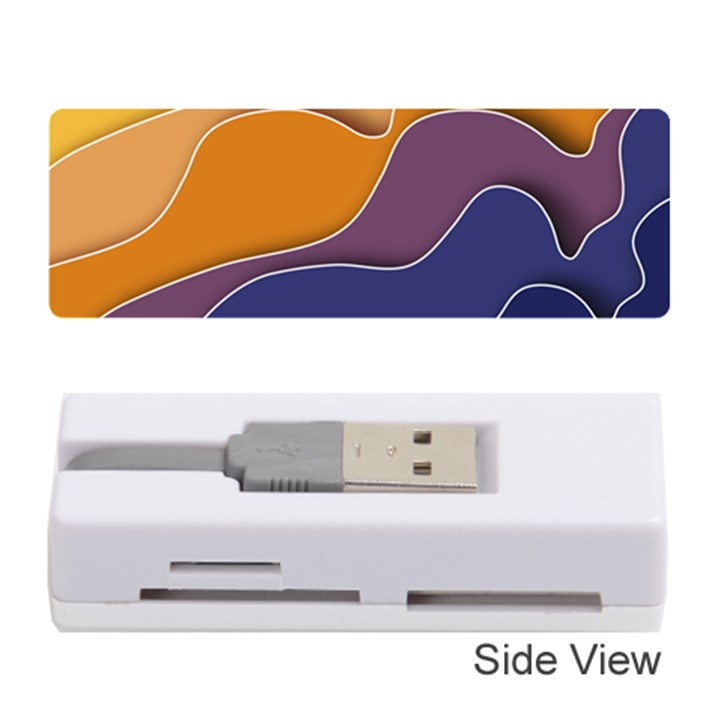 Autumn Waves Memory Card Reader (Stick)