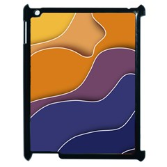 Autumn Waves Apple Ipad 2 Case (black)