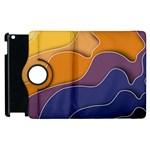 Autumn Waves Apple iPad 3/4 Flip 360 Case Front