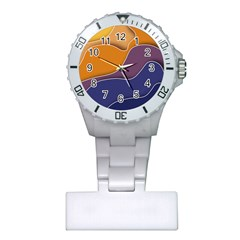 Autumn Waves Plastic Nurses Watch