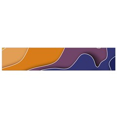 Autumn Waves Small Flano Scarf