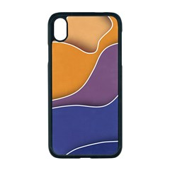 Autumn Waves Iphone Xr Seamless Case (black)