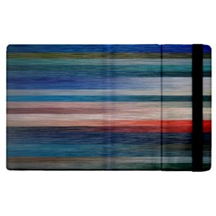 Background Horizontal Lines Apple Ipad Pro 12 9   Flip Case