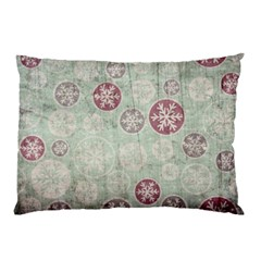Background Christmas Vintage Old Pillow Case (two Sides)