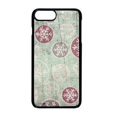 Background Christmas Vintage Old Iphone 8 Plus Seamless Case (black)