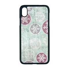 Background Christmas Vintage Old Iphone Xr Seamless Case (black)