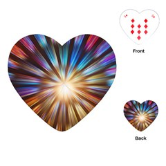 Background Spiral Abstract Playing Cards (heart)