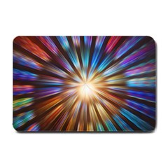 Background Spiral Abstract Small Doormat  by HermanTelo