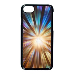 Background Spiral Abstract Iphone 8 Seamless Case (black)