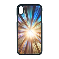 Background Spiral Abstract Iphone Xr Seamless Case (black)