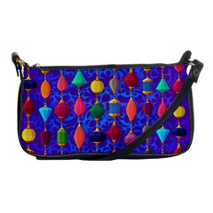 Background Stones Jewels Shoulder Clutch Bag by HermanTelo