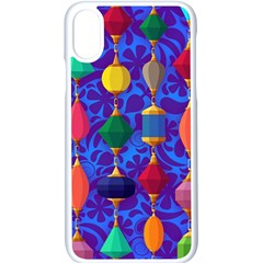 Background Stones Jewels Iphone X Seamless Case (white)