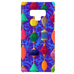 Background Stones Jewels Samsung Note 9 Black Uv Print Case  by HermanTelo