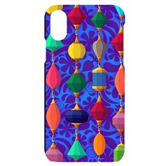 Background Stones Jewels Iphone X/xs Black Uv Print Case