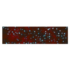 Background Star Christmas Satin Scarf (oblong) by HermanTelo