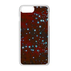 Background Star Christmas Iphone 8 Plus Seamless Case (white)