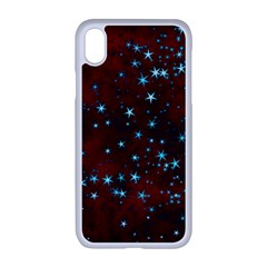 Background Star Christmas Iphone Xr Seamless Case (white)