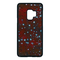 Background Star Christmas Samsung Galaxy S9 Seamless Case(black)