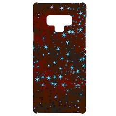 Background Star Christmas Samsung Note 9 Black Uv Print Case  by HermanTelo