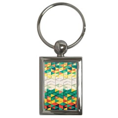 Background Triangle Key Chain (rectangle) by HermanTelo
