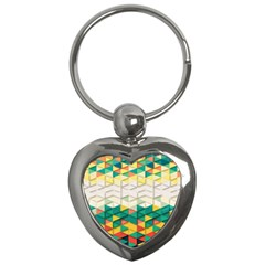 Background Triangle Key Chain (heart) by HermanTelo