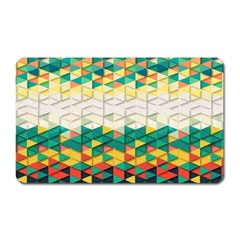Background Triangle Magnet (rectangular) by HermanTelo