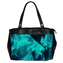 Background Texture Oversize Office Handbag (2 Sides)