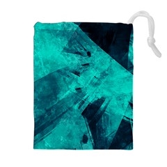 Background Texture Drawstring Pouch (xl)