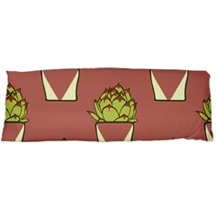 Cactus Pattern Background Texture Body Pillow Case Dakimakura (two Sides)