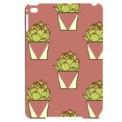 Cactus Pattern Background Texture Apple Ipad Mini 4 Black Uv Print Case by HermanTelo