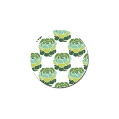 Cactus Pattern Golf Ball Marker (10 Pack) by HermanTelo