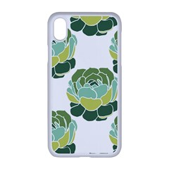 Cactus Pattern Iphone Xr Seamless Case (white)