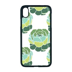 Cactus Pattern Iphone Xr Seamless Case (black)