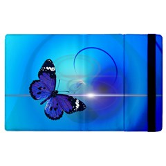Butterfly Animal Insect Apple Ipad 2 Flip Case by HermanTelo