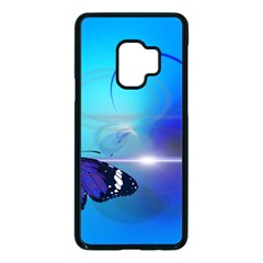 Butterfly Animal Insect Samsung Galaxy S9 Seamless Case(black)