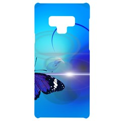Butterfly Animal Insect Samsung Note 9 Black Uv Print Case  by HermanTelo