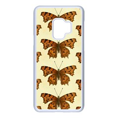 Butterflies Insects Pattern Samsung Galaxy S9 Seamless Case(white)