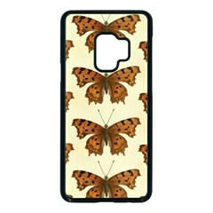 Butterflies Insects Pattern Samsung Galaxy S9 Seamless Case(black)