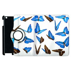 Butterfly Unique Background Apple Ipad 2 Flip 360 Case by HermanTelo