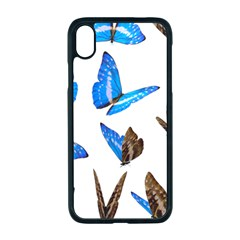 Butterfly Unique Background Iphone Xr Seamless Case (black)