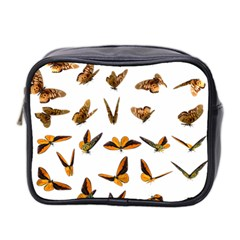 Butterflies Insect Swarm Mini Toiletries Bag (two Sides) by HermanTelo
