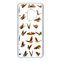 Butterflies Insect Swarm Samsung Galaxy S9 Seamless Case(white)