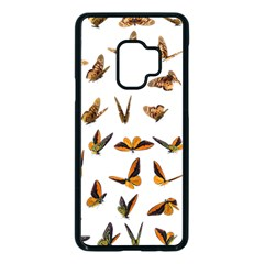 Butterflies Insect Swarm Samsung Galaxy S9 Seamless Case(black)