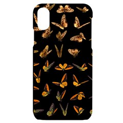 Butterflies Insect Swarm Iphone X/xs Black Uv Print Case