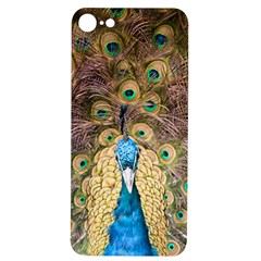 Bird Peacock Feather Iphone 7/8 Soft Bumper Uv Case by HermanTelo