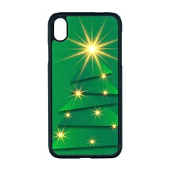 Christmas Tree Green Iphone Xr Seamless Case (black)
